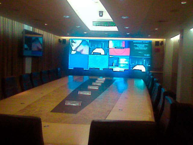 Den enda bilden på Cobra-rummet som gjorts offentlig, släppt 2010 efter en begäran i enlighet med informationsfrihetslagen.