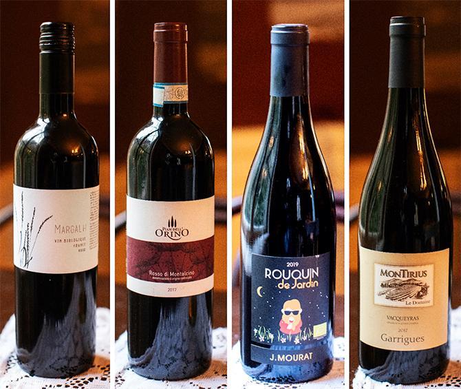 Fyra viner som passar till vilt.