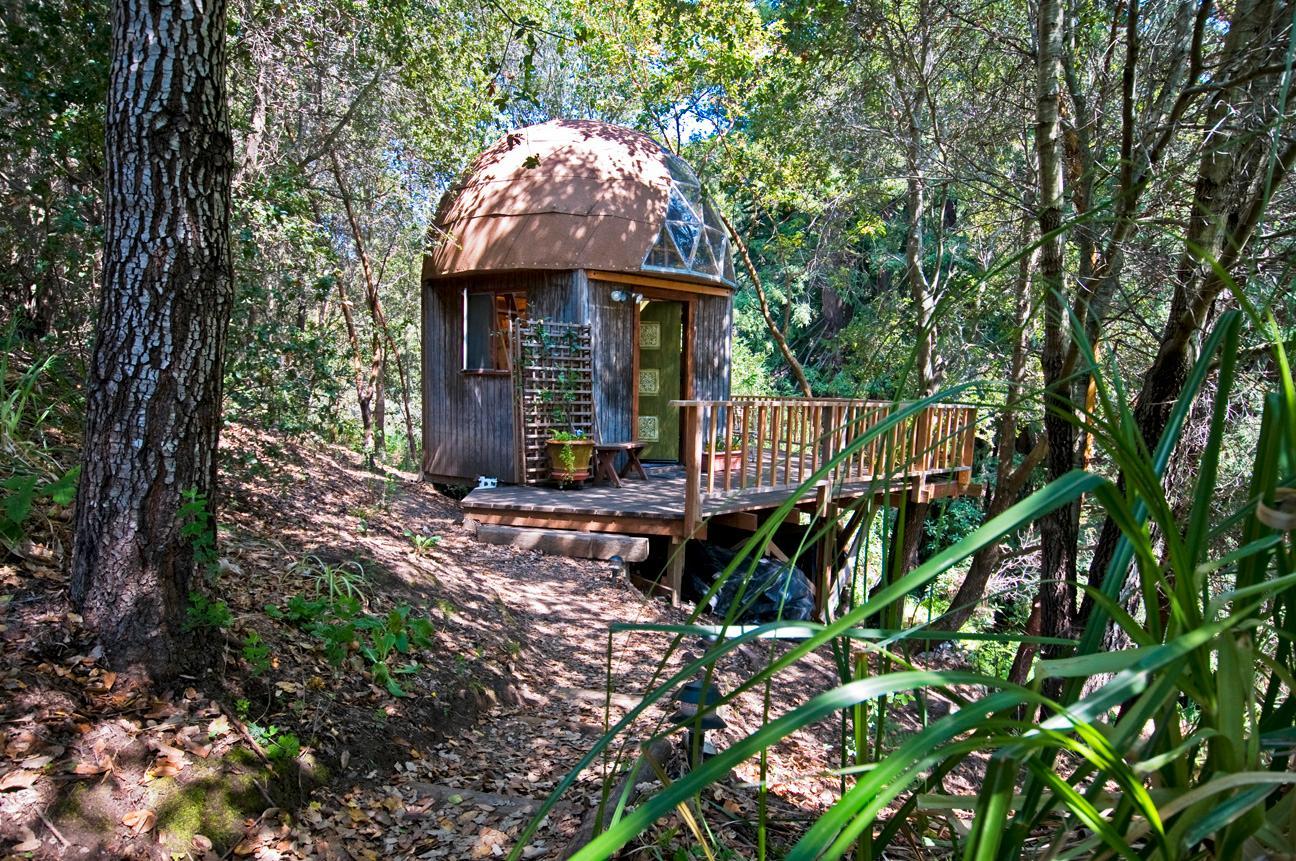 I Kalifornien kan du bo i en kupol som liknar en svamp.