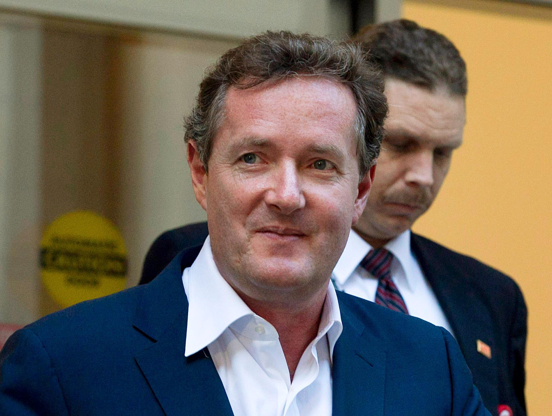Piers Morgan rasar på tv-kollegan.
