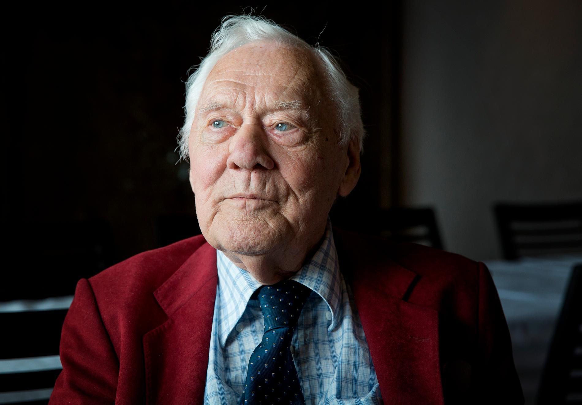 Olof Thunberg blev 94 år gammal.