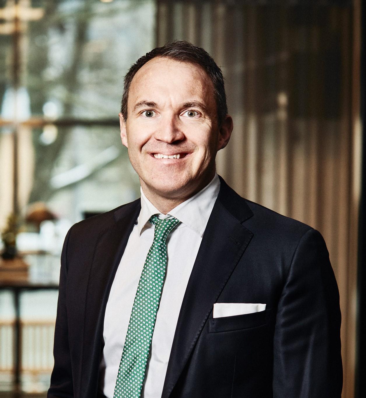 Skandiamäklarnas vd Andreas Moritz.