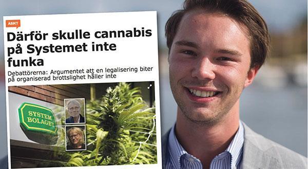 Men vi behöver en narkotikapolitik som ser till verkligheten och inte berikar kriminella nätverk, skriver Alexander Fritz Englund.