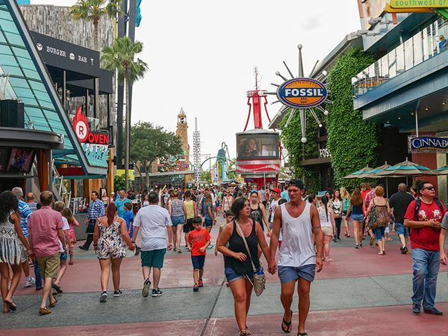 Universal Studios nöjespark är en av många attraktioner som lockar turister till Orlando.