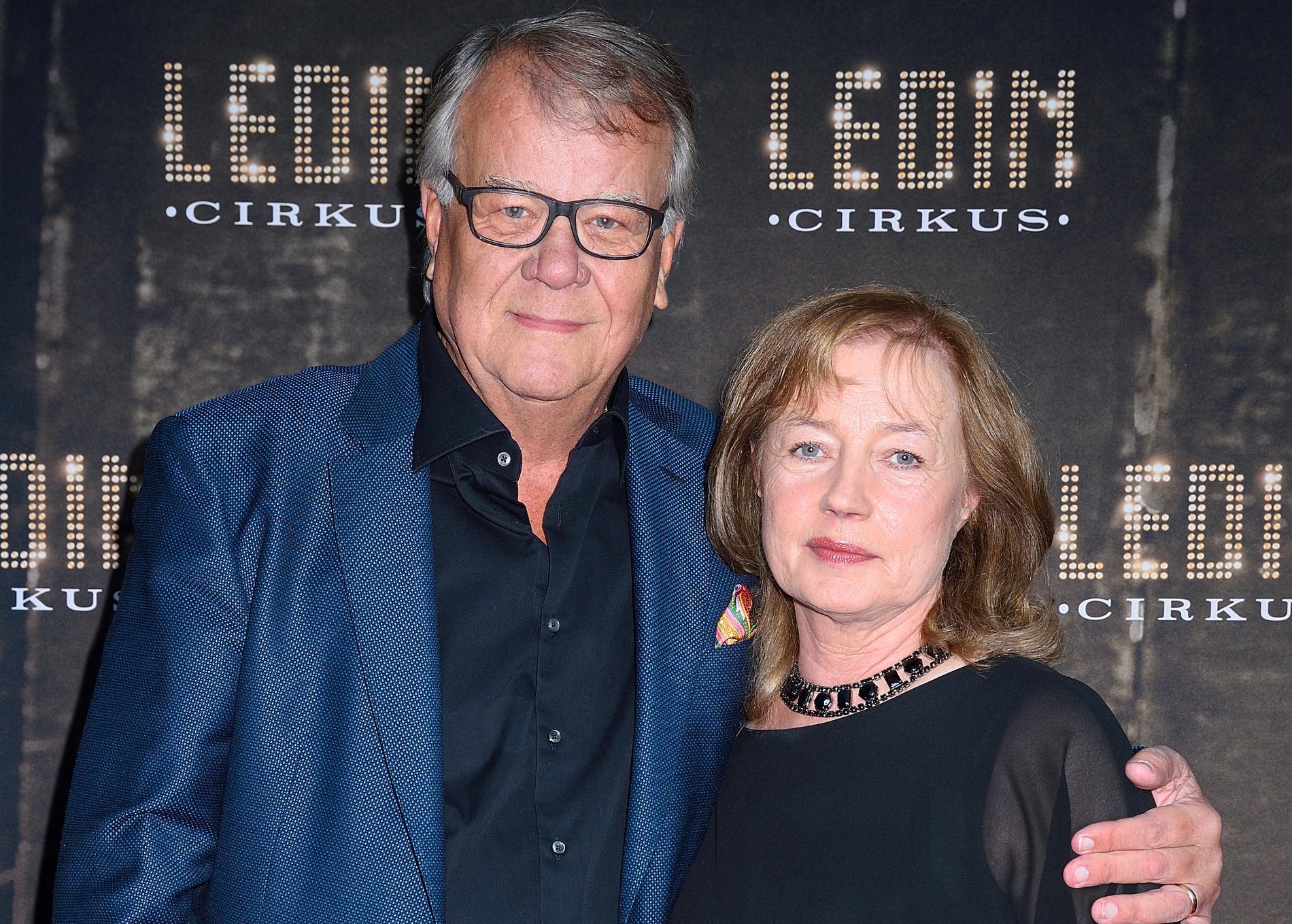 Lasse och Eva Berghagen var snart varit gifta i 45 år.