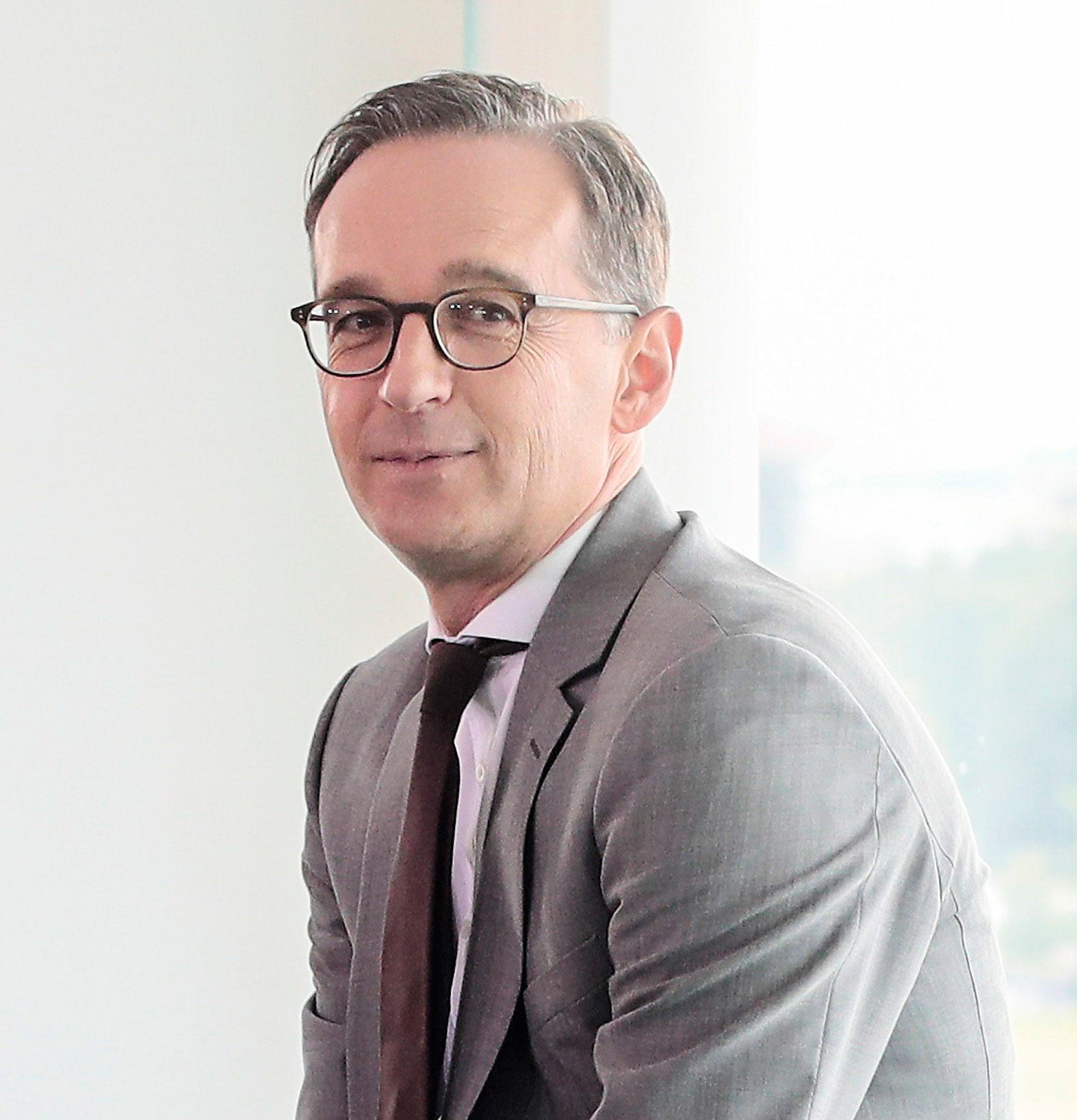 Heiko Maas, Tysklands justitieminister.