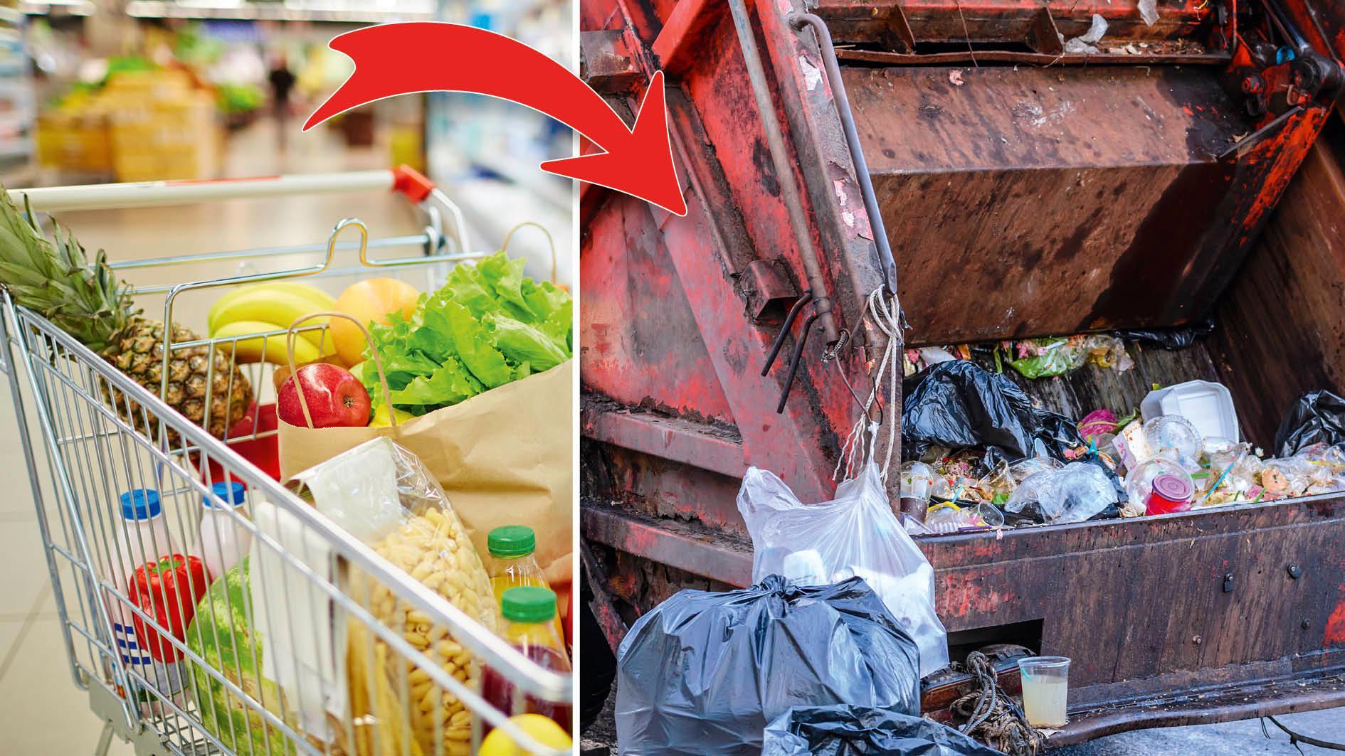 Hela 30 procent av all mat slänger vi helt i onödan.