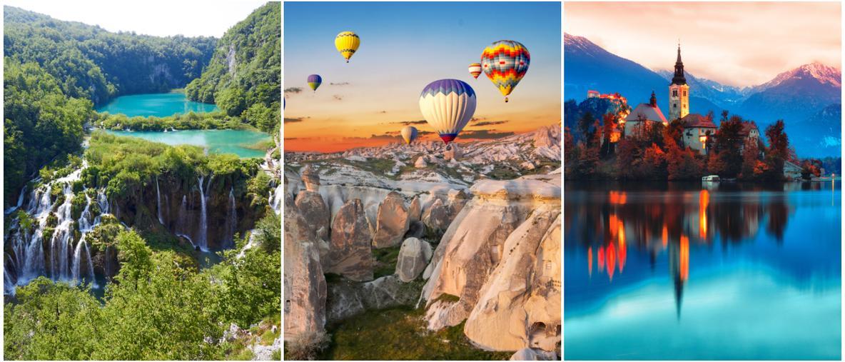 Det finns en hel del platser att besöka i Europa.