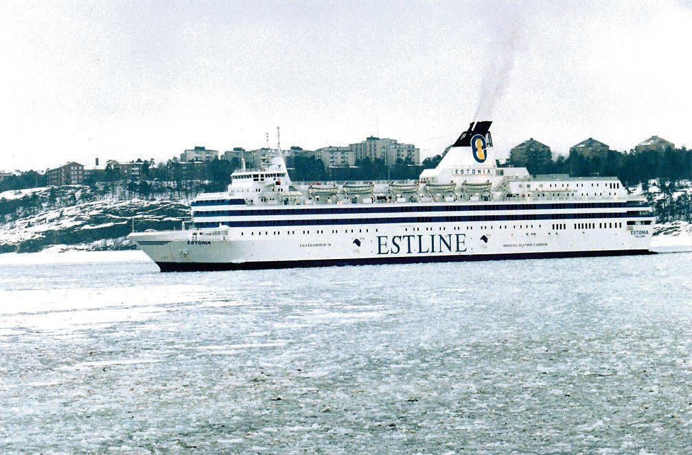 Estonia sjönk 1994.