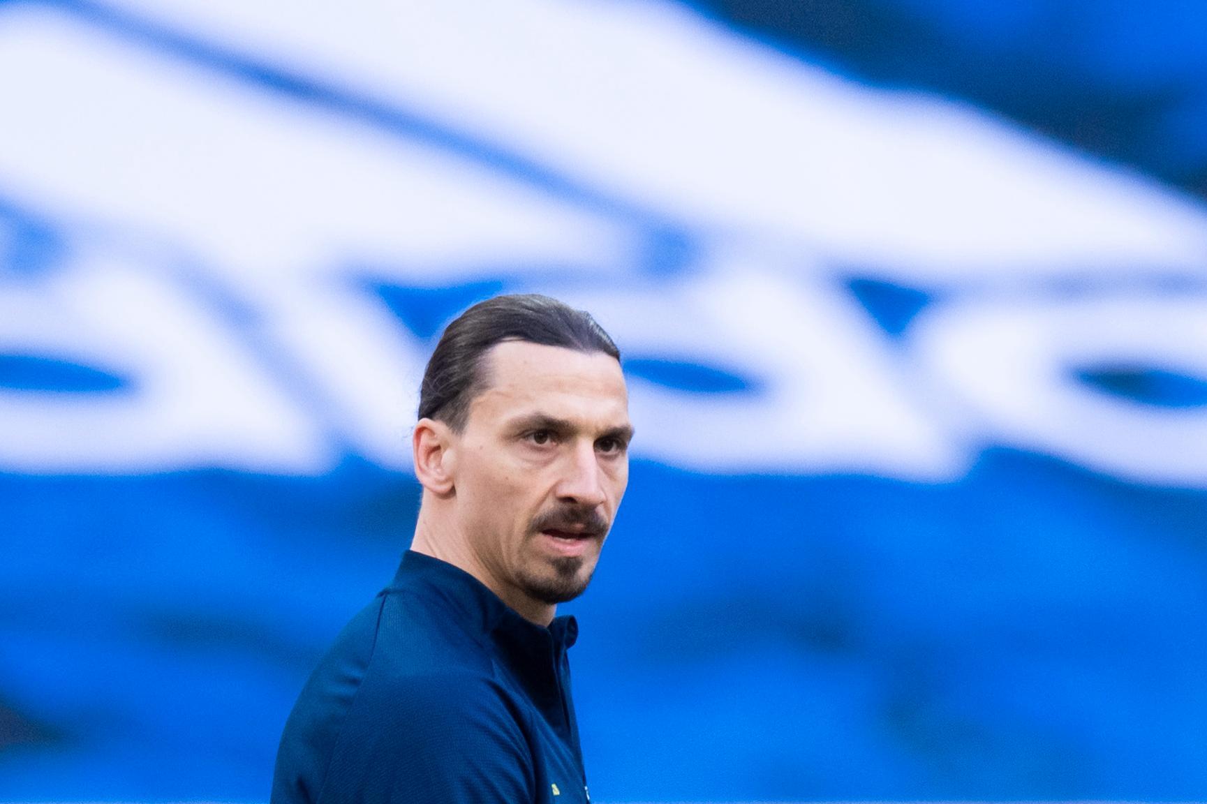 Zlatan Ibrahimovic gjorde comeback i landslaget i samband med VM-kvalet.