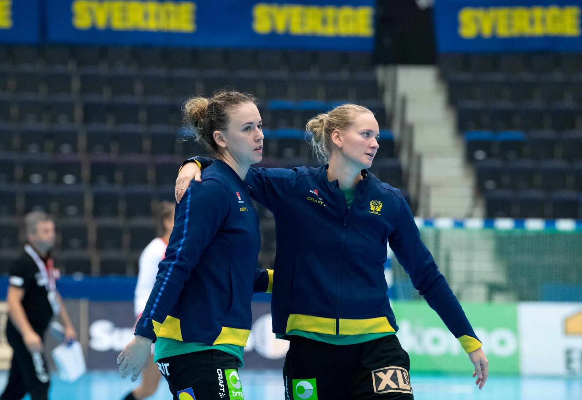 Jessica Ryde och Johanna Bundsen