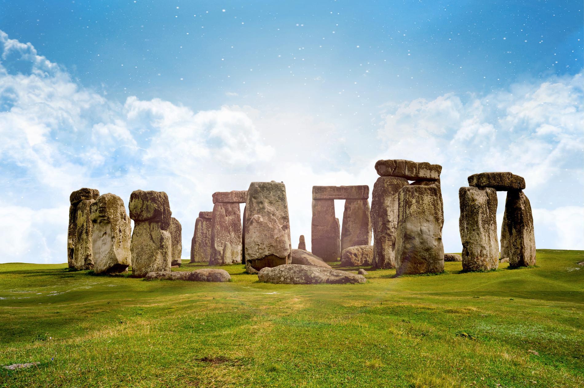 Stonehenge i Wiltshire.