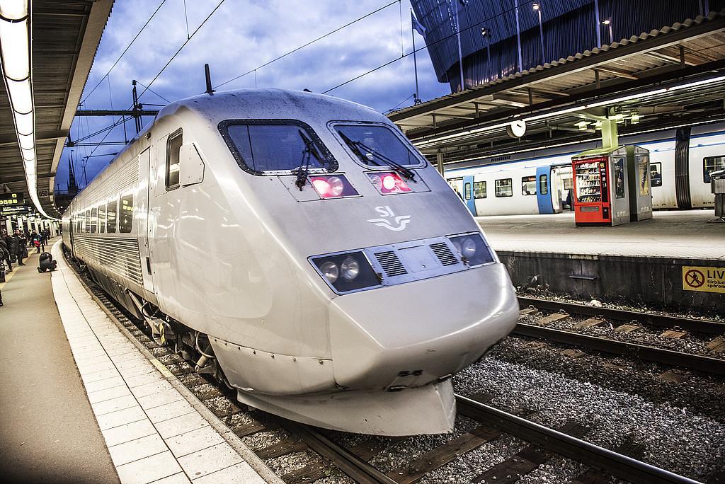 Fler affärsresenärer väljer tåget.