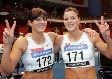 Jenny och Sanna Kallur.