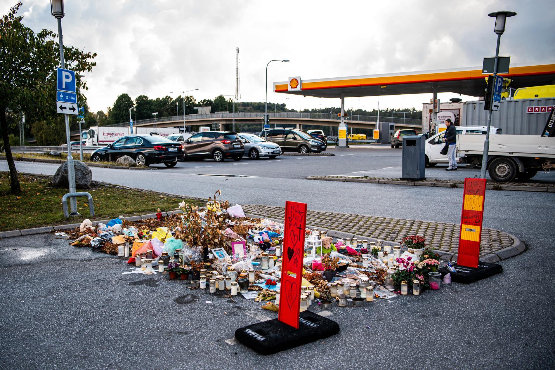 Här sköts Adriana, 12, ihjäl.