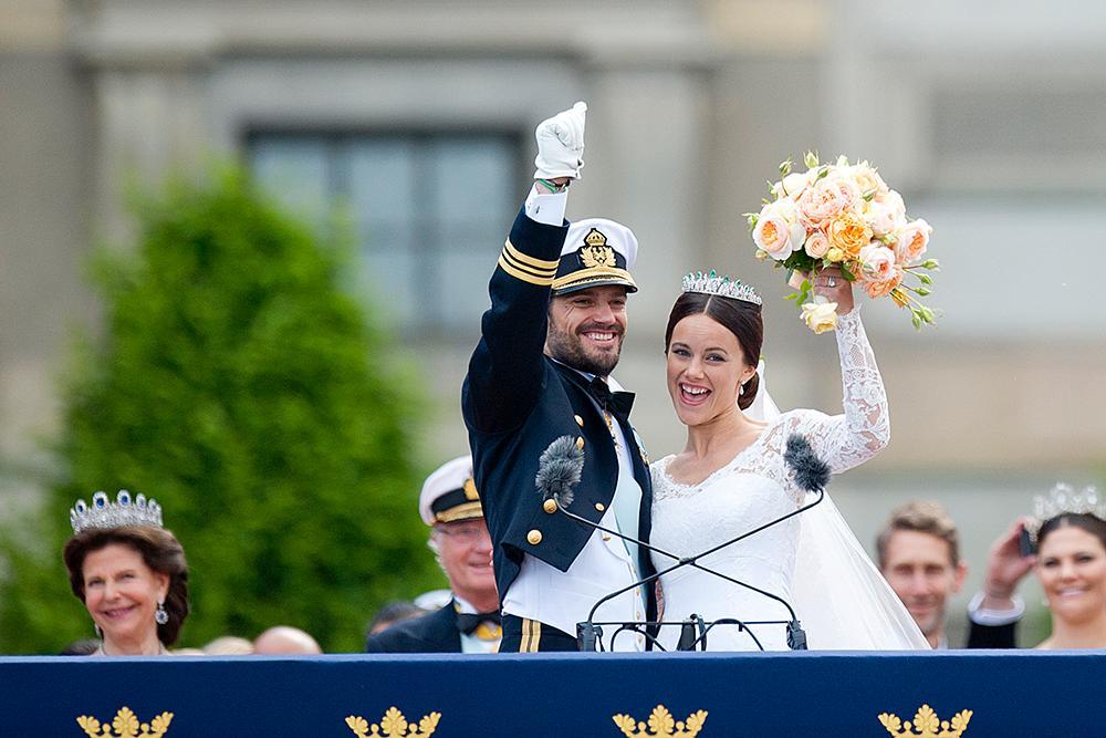 Prins Carl Philip och prinsessan Sofia gifte sig den 13 juni 2015 i Slottskyrkan vid Kungliga slottet.
