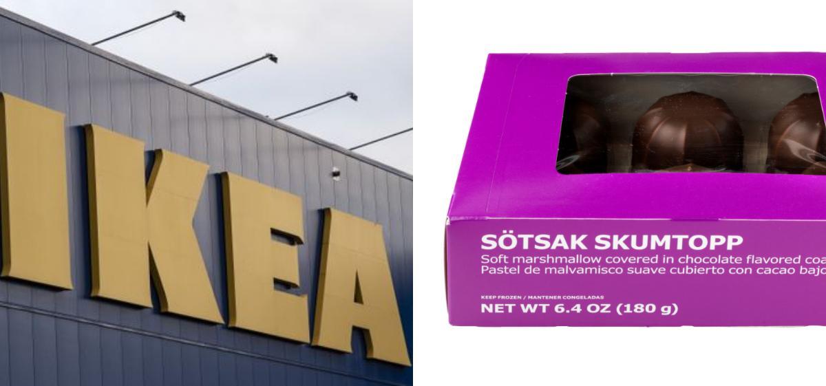 """Ikea återkallar sin """"Sötsak skumtopp""""."""